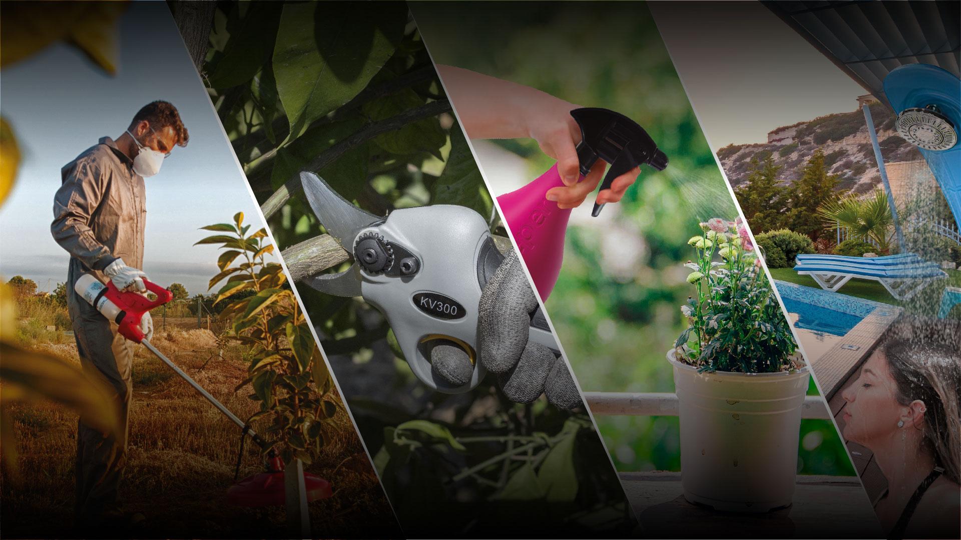 Grupo Sanz - Pulverización y poda en agricultura y jardín