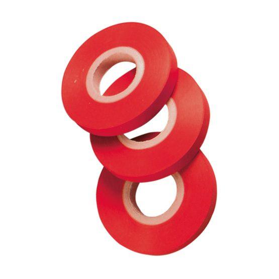 Cinta roja PVC