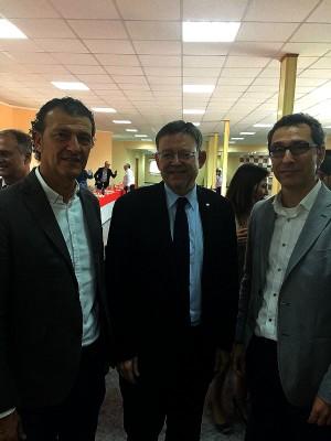 Grupo Sanz participa en el encuentro de empresarios de Llíria con Ximo Puig