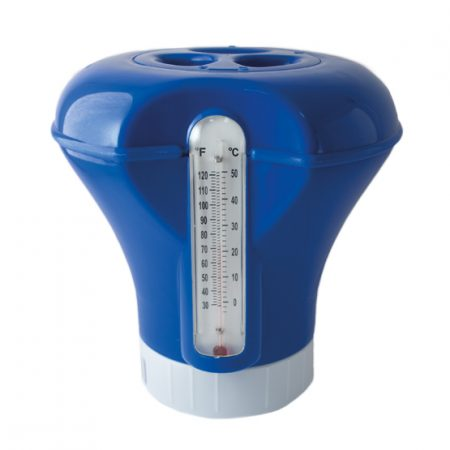 Dispensador flutuante médio com termômetro